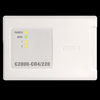 Блок сигнально-пусковой адресный С2000-СП4/220