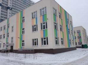 Детское дошкольное учреждение на 190 мест с бассейном : г.Санкт-Петербург, пр. Энергетиков д.9, литер.Ж