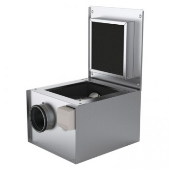 Вентилятор KVK 125 в шумоизолированном корпусе
