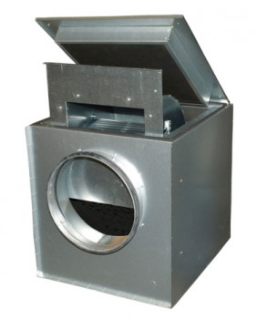 Вентилятор KVK 400  в шумоизолированном корпусе