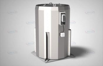 Вентилятор КРОВ9-4,5-ДУ-Н-400-1,1х1420